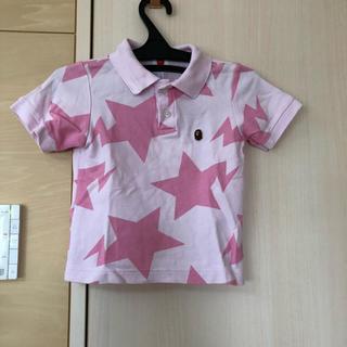 アベイシングエイプ(A BATHING APE)のベイプキッズ☆ポロシャツ☆100(Tシャツ/カットソー)