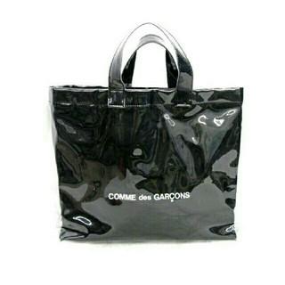 コムデギャルソン(COMME des GARCONS)の【新品、未使用】コムデギャルソン ブラック PVC(トートバッグ)