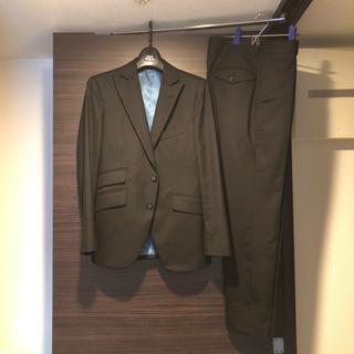 麻布テーラー スーツ セットアップ ジャケット パンツ XSサイズ ブラック(セットアップ)
