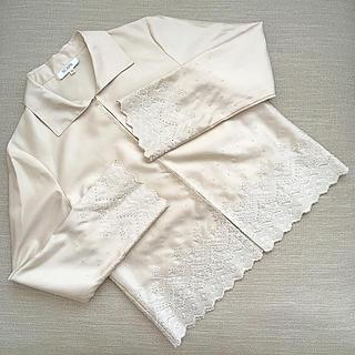 スキャパ(SCAPA)のスキャパ 刺繍ジャケット(テーラードジャケット)