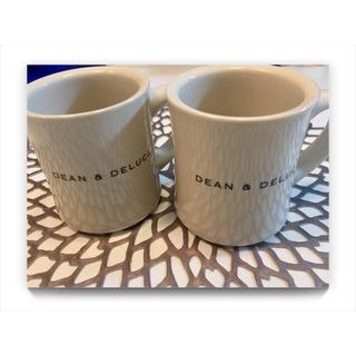ディーンアンドデルーカ(DEAN & DELUCA)のDEAN&DELUCA ペアマグカップ 美品(グラス/カップ)