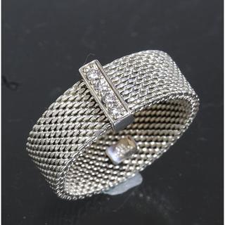 ティファニー(Tiffany & Co.)のティファニー TIFFANY サマセット 4P ダイヤリング 16.5号 仕上済(リング(指輪))