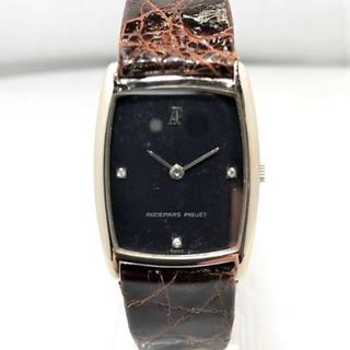 オーデマピゲ(AUDEMARS PIGUET)のAUDEMARS PIGUET K18WG 金無垢 3Pダイヤ 手巻き時計(腕時計(アナログ))
