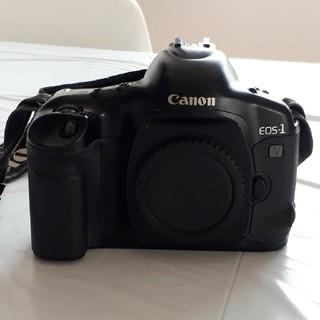 キヤノン(Canon)のキャノン 銀塩一眼レフ最高峰カメラ EOS1V(フィルムカメラ)