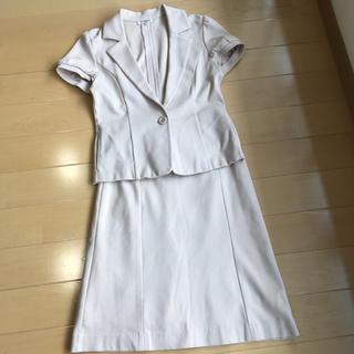 ナチュラルビューティーベーシック(NATURAL BEAUTY BASIC)のナチュラルビューティベーシックの半袖スーツ(スーツ)