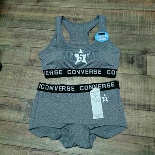 コンバース(CONVERSE)のスポーツブラ&ショーツ・Mサイズ・コンバース オールスター(ブラ&ショーツセット)