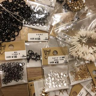 キワセイサクジョ(貴和製作所)のハンドメイド アクセサリー素材 お楽しみパック(各種パーツ)
