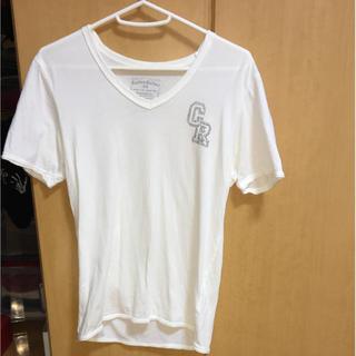 カスタムカルチャー(CUSTOM CULTURE)のカスタムカルチャーホワイトTシャツ(Tシャツ/カットソー(半袖/袖なし))