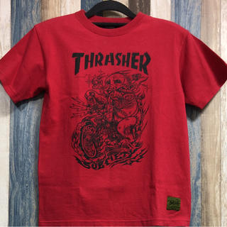 サブサエティ(Subciety)のSubciety THRASHER コラボTシャツ Sサイズ(Tシャツ/カットソー(半袖/袖なし))