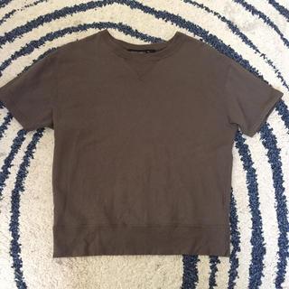 メゾンドリーファー(Maison de Reefur)のメゾンドリーファー  スゥエットTシャツ 38 maisondereefur(カットソー(半袖/袖なし))