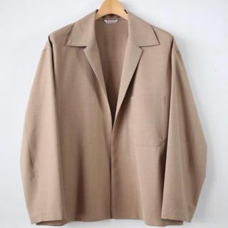 コモリ(COMOLI)の最安値 AURALEE TRO SHIRT JKT 18ss(テーラードジャケット)