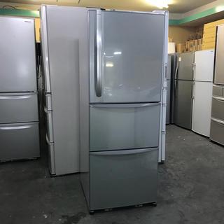 トウシバ(東芝)の⭐️TOSHIBA⭐️冷凍冷蔵庫 339L 自動製氷 大阪市内配達無料(冷蔵庫)
