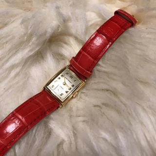ジラールペルゴ(GIRARD-PERREGAUX)のジラールペルゴ アンティーク スモセコ 14金 ヴィンテージ 1945(腕時計(アナログ))