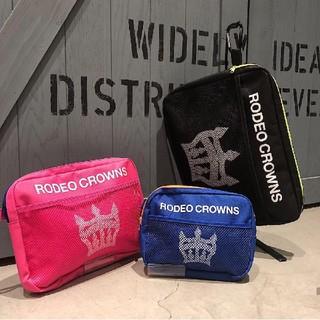 ロデオクラウンズワイドボウル(RODEO CROWNS WIDE BOWL)のRCWB㊗️バースデー記念ノベルティ ポーチのセット 最新ショッパーオマケつき♪(ポーチ)