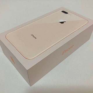 アイフォーン(iPhone)の専用 SIMフリー未使用 新品 iPhone 8 Plus 64GB Gold (スマートフォン本体)