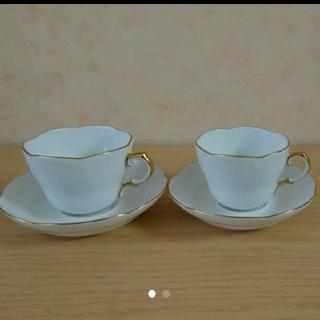 オオクラトウエン(大倉陶園)の大倉陶園 デミタスカップ セット 中古(グラス/カップ)