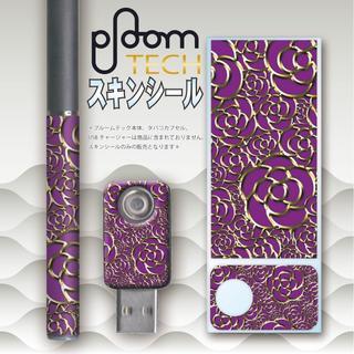 プルームテック(PloomTECH)のプルームテック スキンシール カメリア No.14 ploomtech(その他)