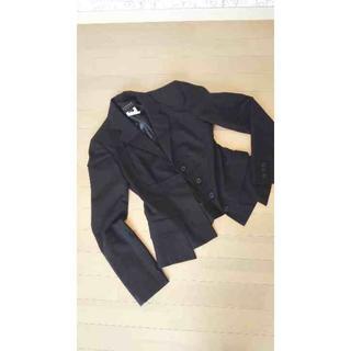 アツロウタヤマ(ATSURO TAYAMA)のATSURO TAYAMA上下セット黒ジャケット2点ロングワンピース妖艶ブラック(その他)