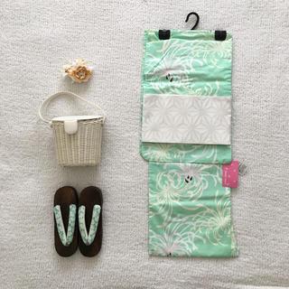 ブルーノマリ(BRUNOMAGLI)の新品未使用浴衣5点セット♡BRUNO MAGLIバッグ付美品(浴衣)