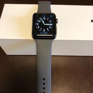 アップル(Apple)のApple Watch3  42mm(腕時計(デジタル))
