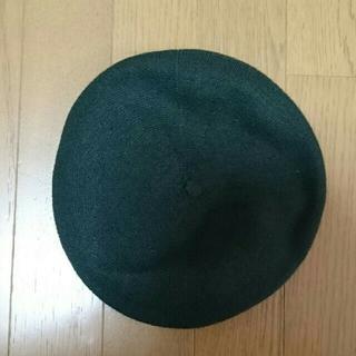 ネストローブ(nest Robe)のdantan ベレー帽 深緑(ハンチング/ベレー帽)