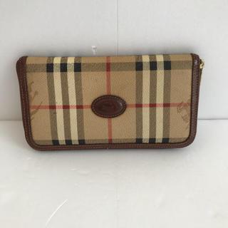 バーバリー(BURBERRY)のバーバリー ラウンドジップ 長財布(財布)