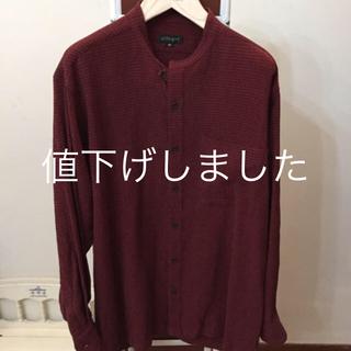 アレグリ(allegri)の美品‼️allegri   メンズスタンドカラーシャツ(シャツ)