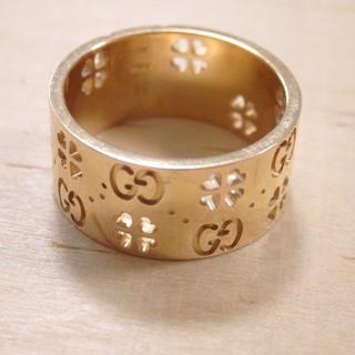 グッチ(Gucci)のグッチ ピンクゴールド リング k18 750 18金 ブルジョワ カルティエ(リング(指輪))