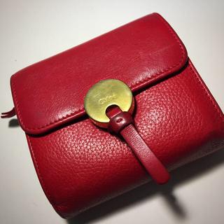 quality design f2232 968fe chloe 折りたたみ財布
