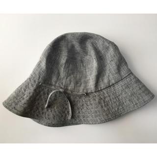 ムジルシリョウヒン(MUJI (無印良品))の無印良品 帽子 グレー(その他)