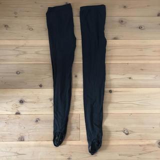ムジルシリョウヒン(MUJI (無印良品))のトレンカ 無印良品 Lサイズ 黒 2本セット(レギンス/スパッツ)