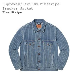 シュプリーム(Supreme)のsupreme levi's デニムジャケット L(Gジャン/デニムジャケット)