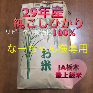 29年産 コシヒカリ 20kg なーちゃん様専用(米/穀物)