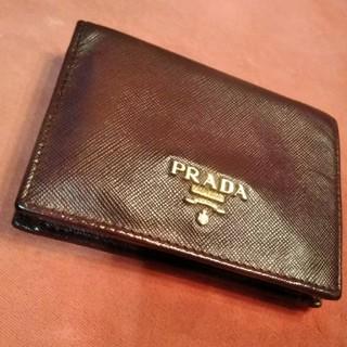 プラダ(PRADA)の未使用品 PRADAバイカラー♡二つ折り財布(財布)