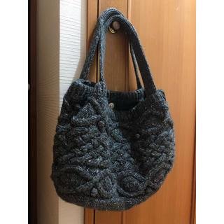 ムジルシリョウヒン(MUJI (無印良品))の編み編み手持ちバッグ (ハンドバッグ)