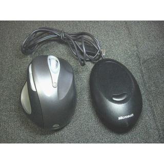 マイクロソフト(Microsoft)のMicrosoft ナチュラルワイヤレスレーザーマウス6000(PC周辺機器)