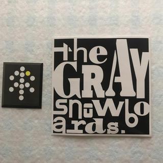 グライ(Gray)のGRAY SNOWBOARDS ステッカー(アクセサリー)
