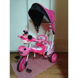 ディズニー(Disney)の三輪車(ミニー)(三輪車)