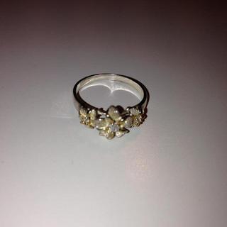 プルメリア シルバーリング(リング(指輪))