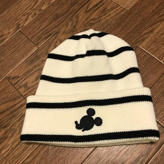 ディズニー(Disney)のミッキー ニット帽(ニット帽/ビーニー)