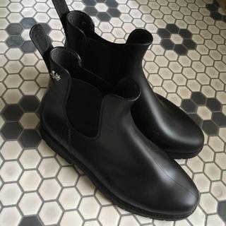 ハンター(HUNTER)のMEDUSE メデュース チャーム付きサイドゴアラバーブーツ(レインブーツ/長靴)