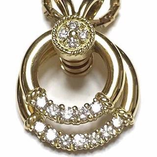 ウォルサム(Waltham)の◆◇平和堂貿易(HCO)/18金 ダイヤ ★スウィング ネックレス(ネックレス)