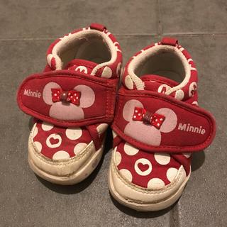 ディズニー(Disney)のミニー 靴 13cm (スニーカー)