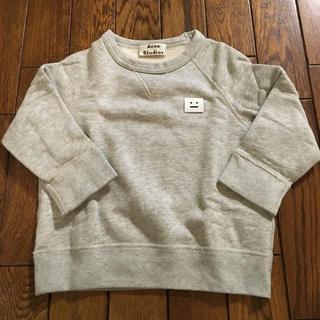 アクネ(ACNE)の美品 Acne Studios トレーナー グレー サイズ90センチ size2(Tシャツ/カットソー)