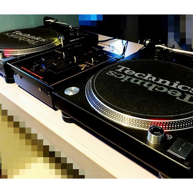Technics SL1200 MK-5  DJセット1式 楽器のDJ機器(ターンテーブル)の商品写真