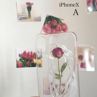 iPhone case🥀iPhoneX A(スマホケース)