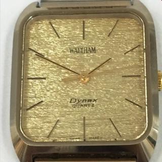 ウォルサム(Waltham)のウォルサム ダイナックス ゴールド クォーツ メンズ 不動 ジャンク品  (腕時計(アナログ))