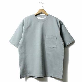 コモリ(COMOLI)のAURALEE stand up tee 17ss(Tシャツ(半袖/袖なし))