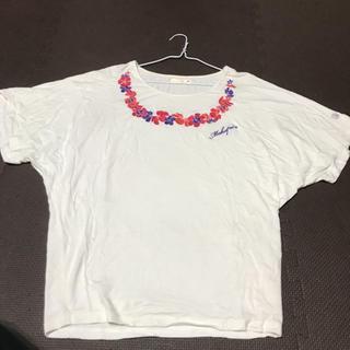 マカブー(makapu'u)の白のトップス(カットソー(半袖/袖なし))