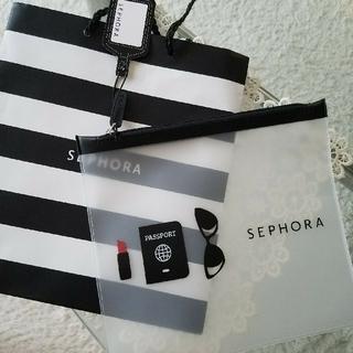 セフォラ(Sephora)のセフォラスケルトンポーチ(ポーチ)